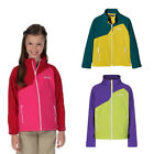 Regatta Vargo Kids Warm Backed Water Repellent Softshell Jacket