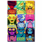 12121 One Piece Strong World Anime Characters Monkey D Luffy PRINT POSTER DE