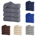 "Large Bath Towel Packs Sets Sheets 100 Cotton 27""x55"" 500 GSM Highly Absorbent"