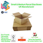 Royal Mail Small & Medium Parcel Postal Mailing Cardboard Boxes Single Wall