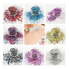 5ml Glitter Pots Chunky Mix Face Eye Beard Festival Body Nails Party Summer Glow