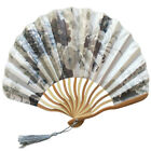 Chinese Style Hand Held Fan Bamboo Paper Folding Fan Party Wedding Decor