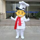 3# Cute Chef Mascot Costume Cosplay Party Game Dress Outfit Advertising Adult 1p
