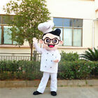 1# Cute Chef Mascot Costume Cosplay Party Game Dress Outfit Advertising Adult 1p