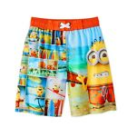 Despicable Me Minions Boys' Swim Trunks Board Shorts UPF 50+ S (6/7), L(10/12)
