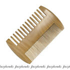 Natural Anti-Static Beauty Handmade Sandalwood Wooden Comb Mustache Comb-NJ