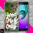 PINEAPPLE SUMMER VIBES FRUIT CROWN THIN PHONE case cover SAMSUNG A3 A5 A6 A7 A8