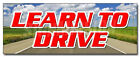 "12"" LEARN TO DRIVE DECAL sticker scuba diving gear instructors trips low cost"
