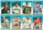 1987 Fleer GLOSSY/TIN Complete Team Set from Factory Set Rookie Card RC Tiffany on Ebay