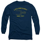 STAR TREK DISCOVERY ATHLETIC Adult Men's Long Sleeve Graphic Tee Shirt SM-3XL on eBay