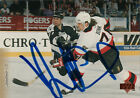 NHL AHL CHL Authentic In-Person Signed Auto Autographed Hockey Cards - YOU PICK