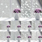 Frosted Privacy Adhesive Glass 1PC Opaque For Window Window Film 45*100cm