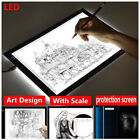 A4/A5 Electronic Digital LED Writing Tablet Drawing Luminous Board Graphic USB