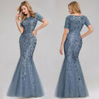 Ever-Pretty US Bodycon Fishtail Homecoming Dress Long Bridesmaid Ball Gown 07707 $35.54 USD on eBay