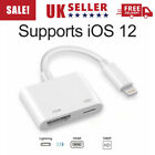 For iPhone 7 8 Plus XS MAX XR Ipad Lightning To HDMI Adapter Cable Digital AV TV