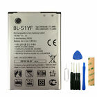 For Boost Mobile LG G Stylo LS770 Replacement Battery BL-51YF Tool