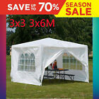 Canopy Gazebo Marquee Party Tent Waterproof Garden Patio Outdoor 3x3m 3x6m 3x4m