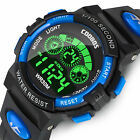 Kids Digital Electronic Watch Waterproof Children Boys Girls Sports LED Watches