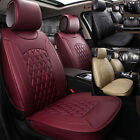 5-seats Universal Car Chair Decor Cushion Seat Cover PGS Comfortable PU Leather on eBay