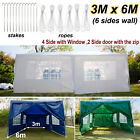 4x3m 6x3m 3x3m Gazebo Marquee Party Waterproof Garden Patio Tent Outdoor Canopy