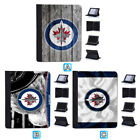 Winnipeg Jets Leather Flip Case For iPad 1 2 3 4 Mini Air Pro 9.7 10.5 $20.99 USD on eBay