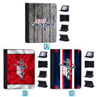 Washington Capitals Leather Flip Case For iPad 1 2 3 4 Mini Air Pro 9.7 10.5 $20.99 USD on eBay