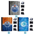 Edmonton Oilers Leather Flip Case For iPad 1 2 3 4 Mini Air Pro 9.7 10.5 $20.99 USD on eBay