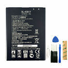 For TracFone LG G Stylo 2 L82VL Replacement Battery BL-45B1F BAK-110 Tool