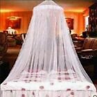 Elegant Round Lace Protect Mosquito Netting Mesh Canopy Princess Dome Bed Net image