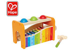 Hape Pound & Tap Bench w/Slide Out Xylophone Wooden Musical Toy for Toddlers