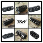 Kyпить 1/2-28 Thread Muzzle Brake With Crush Washer For .223/5.56 Black на еВаy.соm