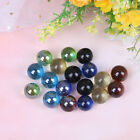 10Pcs 16mm colored crystal knicker ball fish tank decor color nuggets toy HF