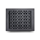 "Cast Iron floor Register Grate 8"" x 10"" Home Decor Powder Coated Vent Cover"