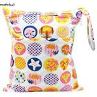 Baby Infant Washable Nappy Storage Bag Diaper Wet Dry Cloth Waterproof Portable~