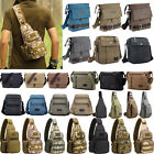 Mens Tactical Chest Military Travel Shoulder Cycling Sling Crossbody Laptop Bags