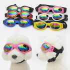 Pet Dog Doggy Sunglasses Toys Eye Wear Goggle Sun Glasses Adjustable Strap
