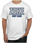 Ezekiel Elliot T-Shirt - ZEKE NUFF SAID Dallas Cowboys NFL Uniform Jersey #21 $19.99 USD on eBay