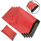 Coloured Mailing Bags Red Poly Parcel Postal Plastic Shipping Mail Post Delivery