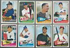 2014 Topps Heritage High Number Complete Team Set Rookie Card Logo RC No VAR/SP