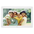 "12/15.4/17"" HD Digital Photo Frame Album Picture MP4 Movie Player Remote Control"