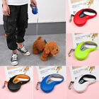 Extending Lead  Retractable Traction Rope Cord Tape Dog Leads Dogs Leash