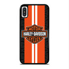 NEW HARLEY DAVIDSON ORANGE LOGO iPhone 5 6/S 7 8 + 11 Pro X XR XS Max Case Cover $15.9 USD on eBay