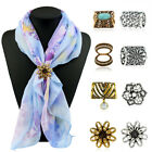 Women Shawl Ring Clip Lapel Pins Scarves Fastener Scarf Buckle Faux Turquoise $1.88 USD on eBay