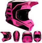 New 2020 Fox Racing V1 Prix Helmet Pink All Sizes UTV ATV MX