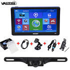 "Wireless 7"" Car GPS Navigation Bluetooth AV-IN Backup Camera Reverse Rear View"