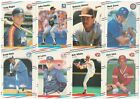 1988 Fleer Update Complete Team Set from Factory Set XRC Rookie Card RC Traded on Ebay