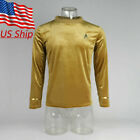 Star Trek TOS Captain Pike Kirk Top Uniform Cosplay The Original Series Shirt on eBay