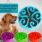 LD_ Plastic Grid Design Pet Slow Feeding Bowl Dog Cats Anti Choking Gorging Fe