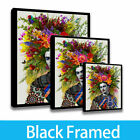 Home Decor Character Painting Art Porch HD Print on Canvas Frida Kahlo Framed!