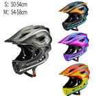 Kids Bike Helmet Toddler Full Face Helmet Detachable Ultralight Safety Helmet